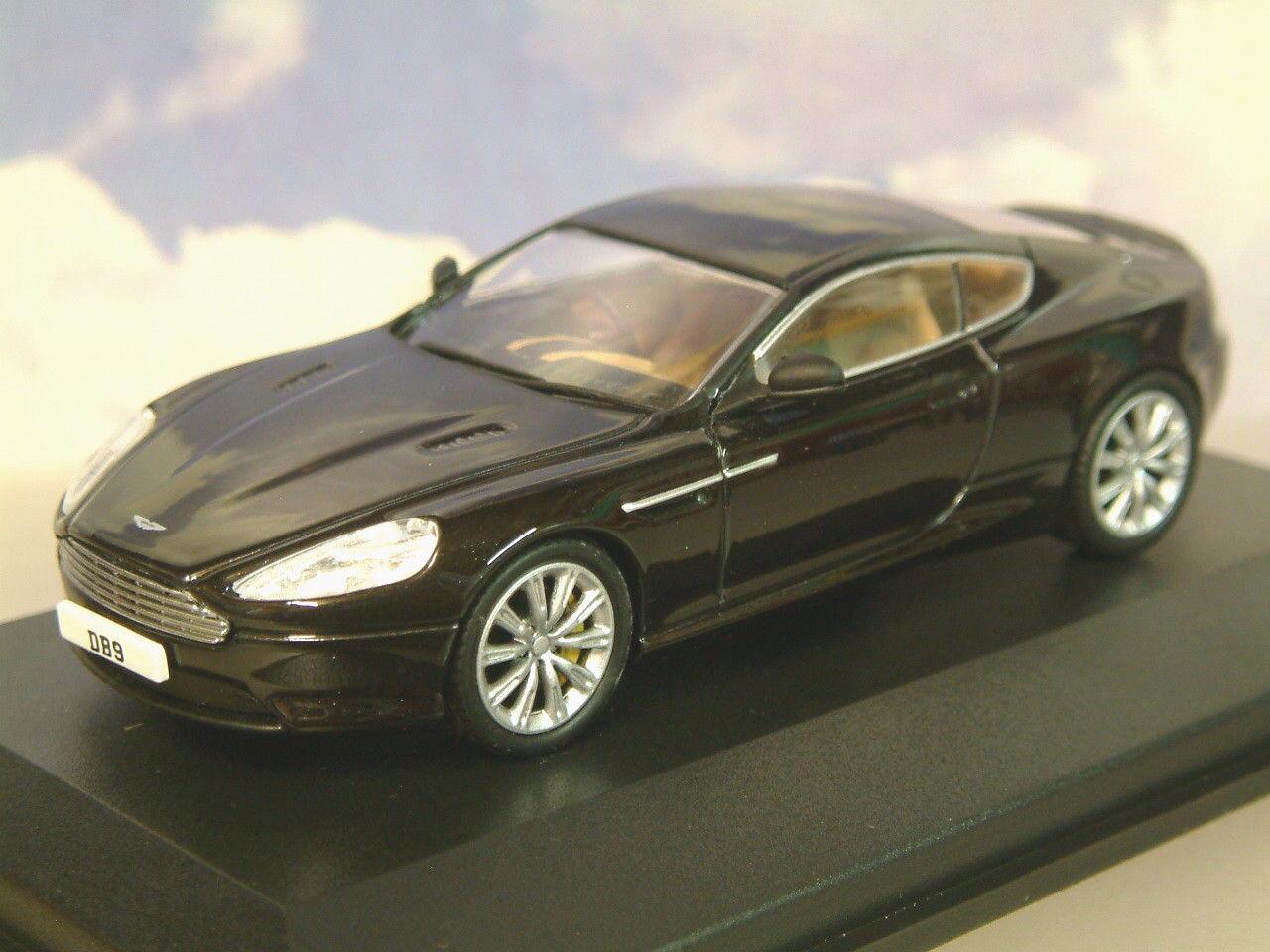 Oxford Diecast 1 43 Aston Martin Db9 Coupe 2013 Facelift en Onyx Noir Amdb9002