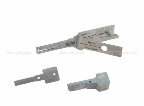 CITROEN PEUGEOT Locksmith lockpick decoder unlock lockpicking tools crochetage /