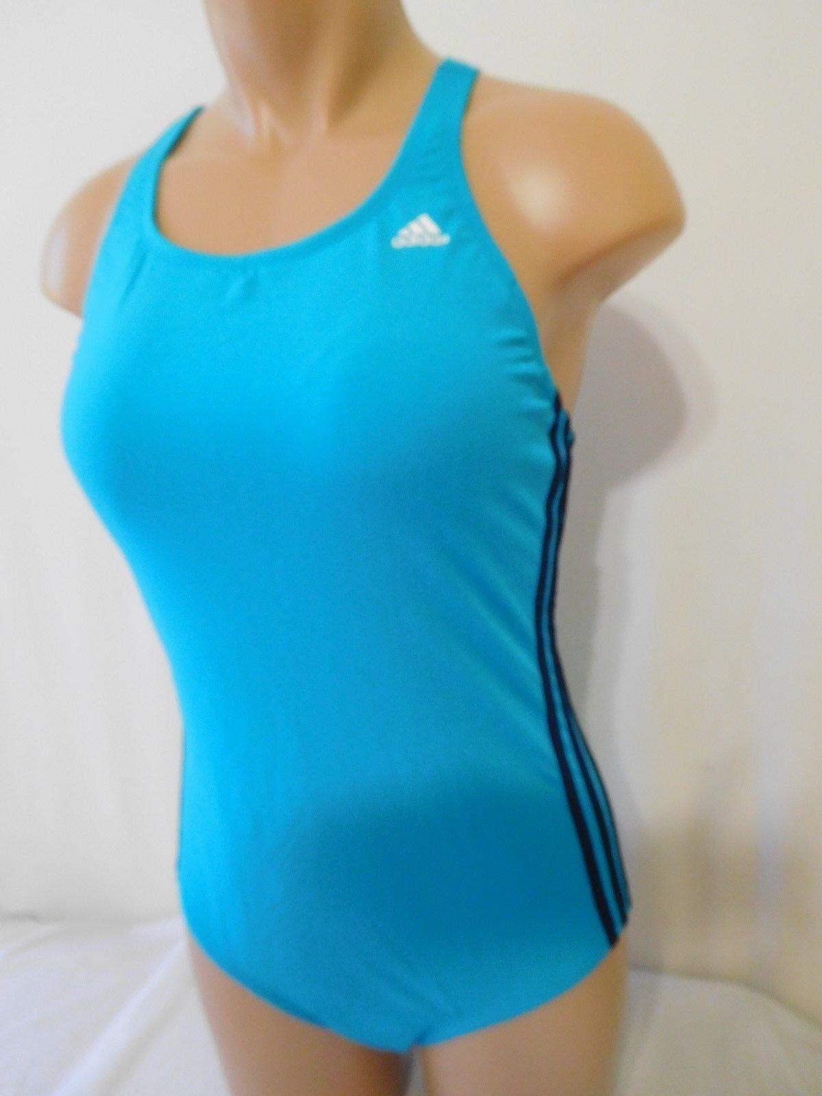 Adidas Size Swimsuit Bathing Suit Women Shock Mint Size Adidas 14 New One Peice e3f444