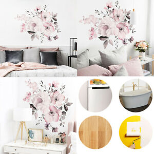 Home Decor DIY Art Removable Quote Wall Sticker 3D Flower Room Decal Vinyl Mural