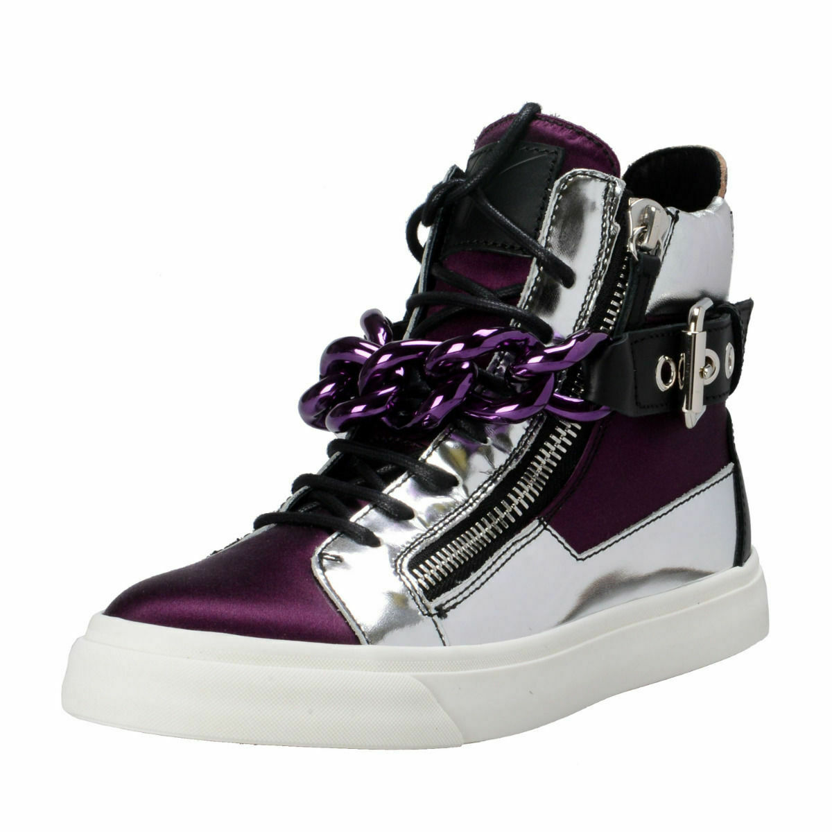 Giuseppe Zanotti Design Hi Top Fashion Sneakers shoes 6 8 8.5 9 9.5 10 10.5 11