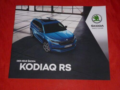 SKODA kodiaq RS prospetto di 2018