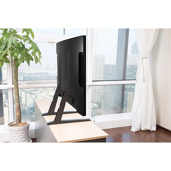 UAX 40 in -70 in Compact Universal Fixed Tabletop TV Stand   Ebay