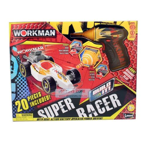 Workman Build It Yourself 20 PCS Super Racer Toy For Kids