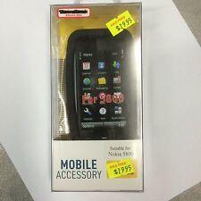 Nokia 5800 Silicone Case Cover in Black SSNOK5800. Brand New in Original package