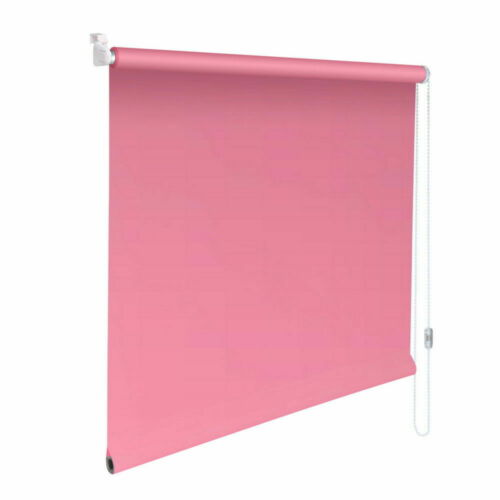 Mini-Blind Klemmfix Clamp Roller Blind Easyfix Privacy-Height 130 cm Pink