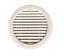 Lueftungsgitter-Abluftgitter-Fertiggarage-125-154-mm-rund-Flansch-Garage Indexbild 1