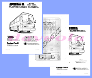 digital download all the mci102a mci102b mci102c manuals mci 102 rh ebay com 1998 MCI Bus Mcin Conversion MCI 102A3