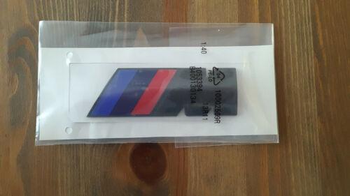 BMW MPower BLACK Emblem Badge Sticker 1 2 3 4 5 6 7 x3   Best Quality UK Stock