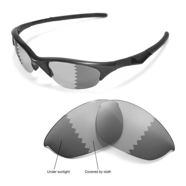26c8131115 Walleva Polarized Transition photochromic Lenses for Oakley Half ...