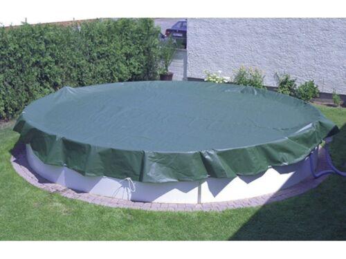 PEB Abdeckplane OVAL Pool 11,0 x 5,50 Meter Premium 180 g//m² Spannschloss Schnur