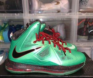 Nike Lebron 10 X Cutting Jade Men's