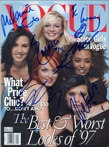 Sexy-Spice-Girls-Signed-Photo-Autograph-8x10-2-Pictures-Photographs-Prints