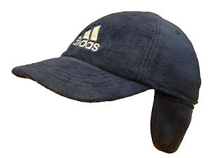 ADIDAS WINTER WARM FLEECE HAT BASEBALL CAP GOLF FOOTBALL TENNIS ... 2ccbb9306de