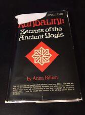 Rare occult Book Kundalini by Anna Billion 1sr edition Magick Yoga