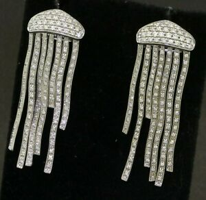 Roberto-Coin-heavy-18K-white-gold-3-0CTW-VS1-G-diamond-jellyfish-earrings