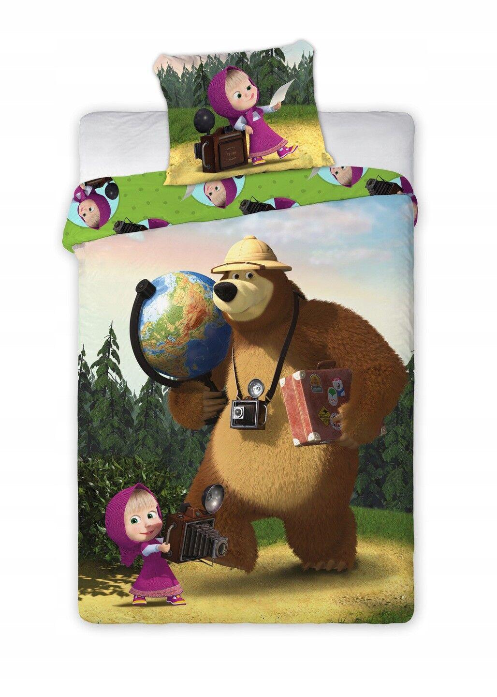 Bettwäsche Kinderbettwäsche Masha Und Der Bär 135x200 140x200 2