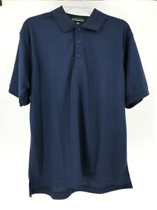 Devon-amp-Jones-Sport-Men-039-s-Polo-Golf-Shirt-Navy-Blue-Dri-Fast-UPF-15-Size-M-3XL