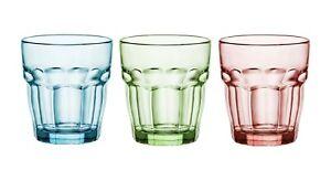 Bormioli-Rocco-couleur-Tumbler-verres-270-ml-couleur-Lot-de-6