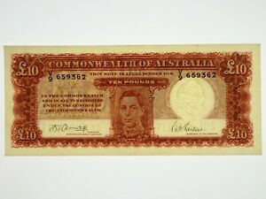 1943-Ten-Pounds-Armitage-McFarlane-Banknote-in-Extremely-Fine-Cond