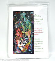 Sirene Mermaid In A Bottle Collage Quilt Pattern