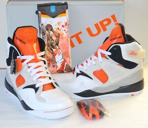 1096c5939b6 New Reebok The Pump Retro Certified White Black Orange 12 Stance ...