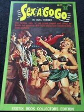 Vintage  pulp book cover Poster reproduction. Case of the Dancing sandwich