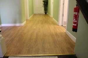Commercial grade vinyl slatted flooring 5 colours ebay for Commercial grade flooring options