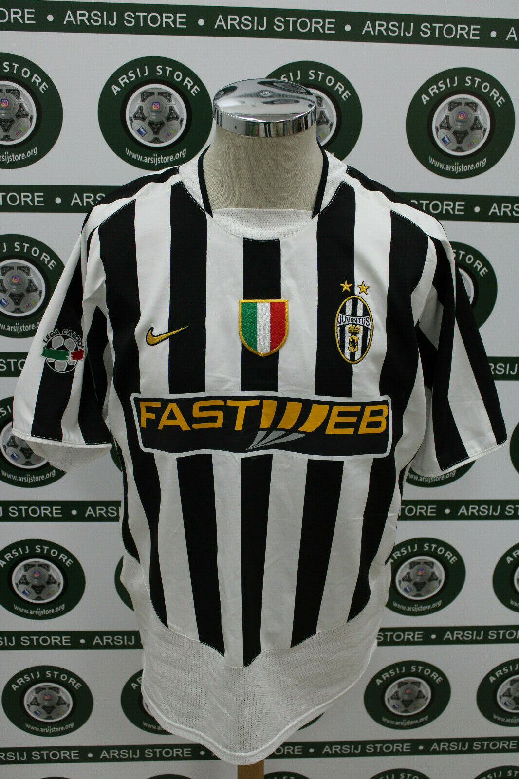 Maglia calcio shirt maillot trikot camiseta JUVENTUS CONTE TG XL 2003 04