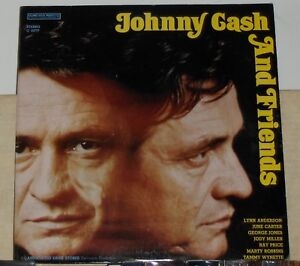 JOHNNY CASH AND FRIENDS - VINYL LP 1972 COLUMBIA SPECIAL PRODUCTS - JUNE CARTER