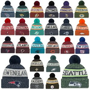free shipping 20a96 7f31a Image is loading New-Era-NFL-Sideline-Beanie-18-19-Winter-