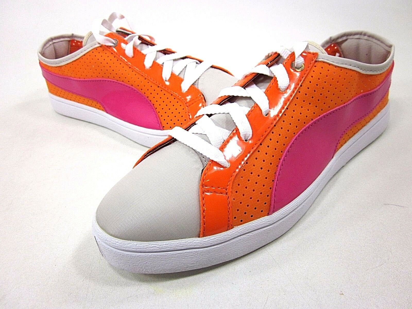 PUMA, KAI LO PERFORATED SHOE, WOMENS, ORANGE POPSICLE, US 8.5M, NEW WITHOUT BOX Comfortable and good-looking
