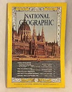 National-Geographic-July-1965-Mt-Kennedy-Costa-Rica-Danube-Arran-Grosvenor-Vtg