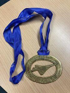 British Airways Clubs Concorde 5 Mile Medal 2013 Brass
