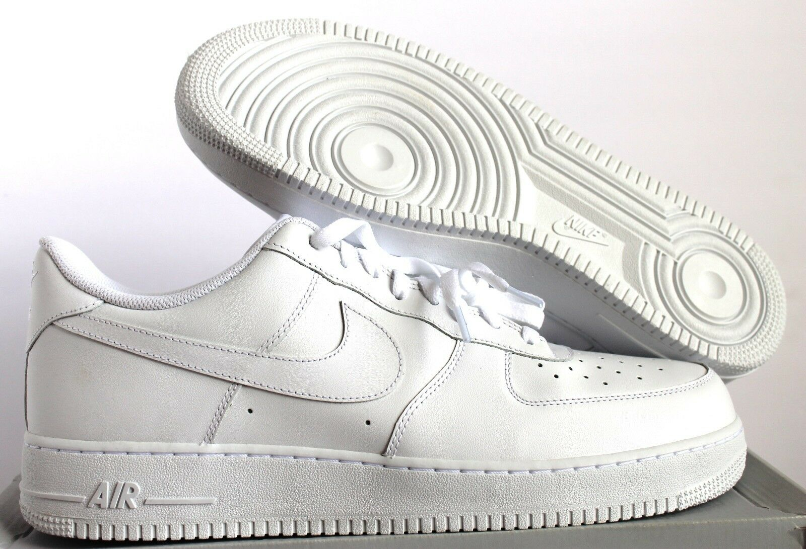 Nike air force 1 07 uomini white-white uomini 07 sz 12 [315122-111] e60707