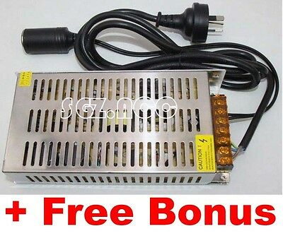 Aussie 240V AC to 12V DC Converter/Transformer Adapter/ Car Appliance 240W 20A