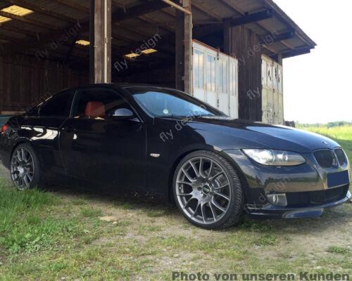 POUR BMW e92 Coupe 2005-2010 Front éclats Flap Flip Lip verni saphir noir 47