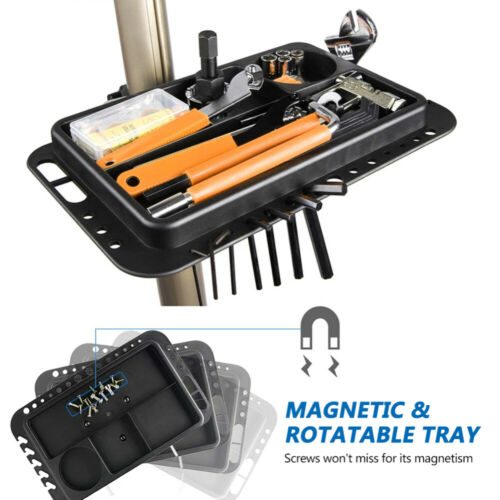 Details about  /Foldable Bicycle Repair Stand Mechanic adjust Workstand for Road /& Mountain Bike