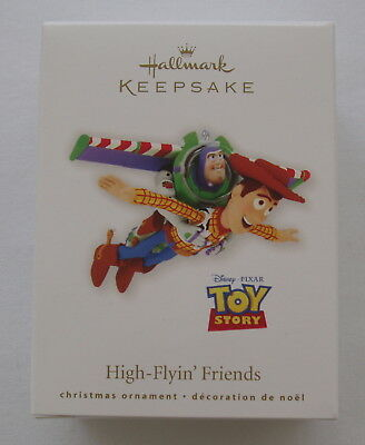 Hallmark 2010 Disney Pixar Toy Story High Flying Friends Buzz Woody Ornament
