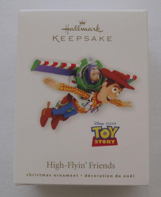 Hallmark 2010 Disney Pixar Toy Story High Flying Friends Buzz Woody Ornament