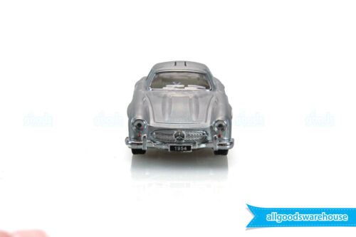 1954 Mercedes-Benz 300 SL Coupe Silver 1:36 scale Diecast model classic car