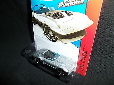Hot Wheels 2015 Fast and Furious Corvette Grand Sport Roadster HW Race 179/250