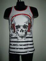Jor Clothing Music Tank Top Black / White (l)