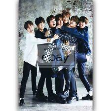 New BTS Custom Silk Poster Wall Decor