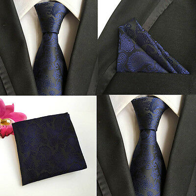 Hankie Pocket Square Handkerchief Navy Blue Black /& Yellow Floral