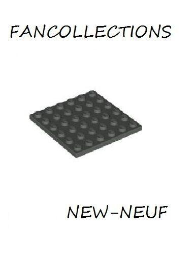 Black Plate 6x6-3958 NEUF LEGO x 1