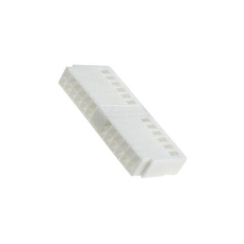 770040 carcasa de los conectores o enchufes hembra Quadlock pin 24 blanco
