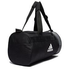 8d3028da569 Adidas Convertible 3-Stripes Duffel Bag Sports Bag Gym Holdall Zip Mesh  Small