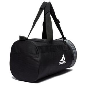 a4d4d8e743c3 Adidas Convertible 3-Stripes Duffel Bag Sports Bag Gym Holdall Zip ...