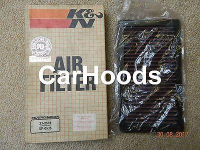 K and N Original Performance Part K/&N High Flow Replacement Air Filter 33-2096